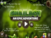 Snailboy ~ An Epic Adventure preview